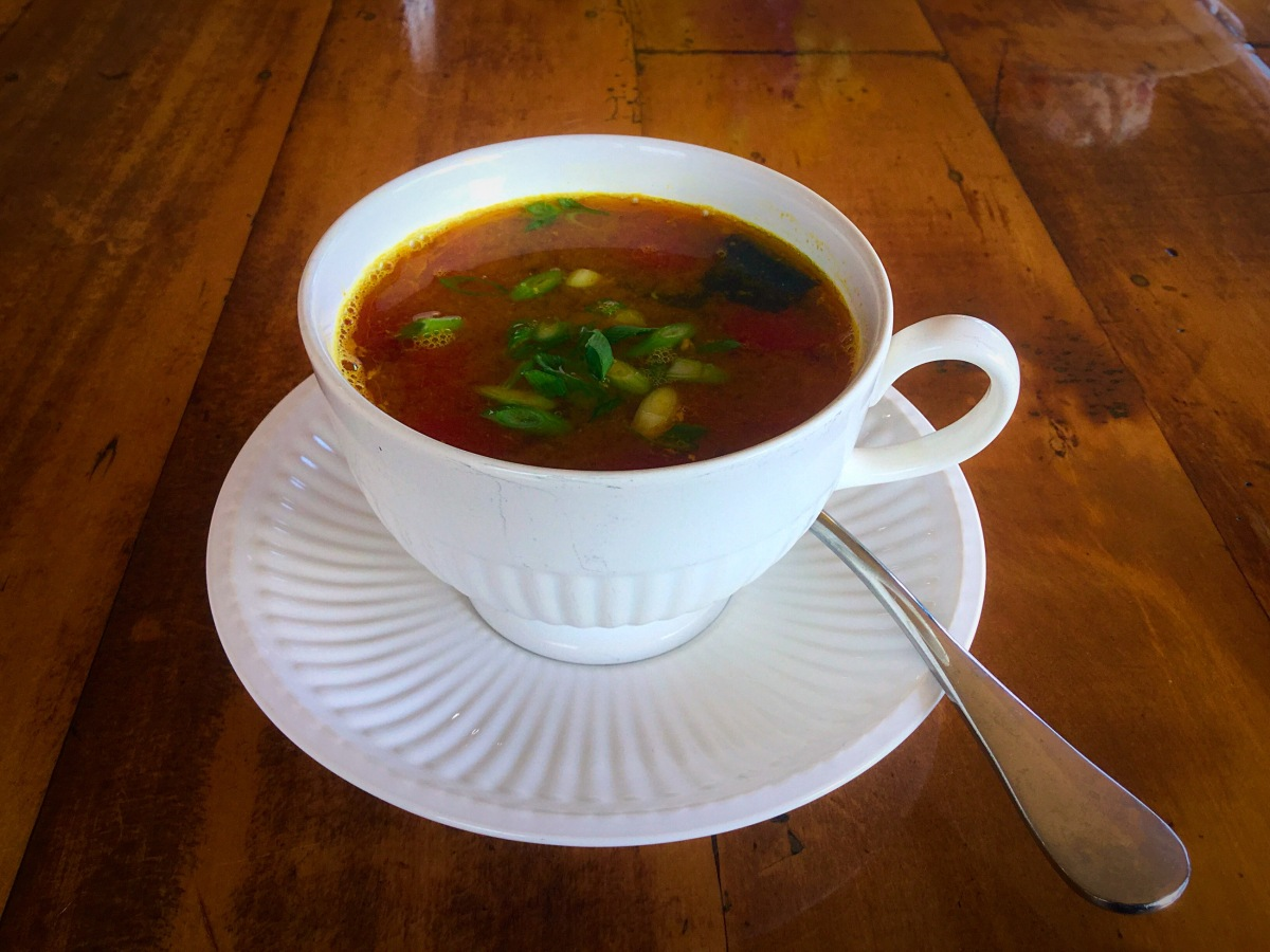 Fish broth and fish soup alex 39 s kitchen wonderland for Fish broth soup